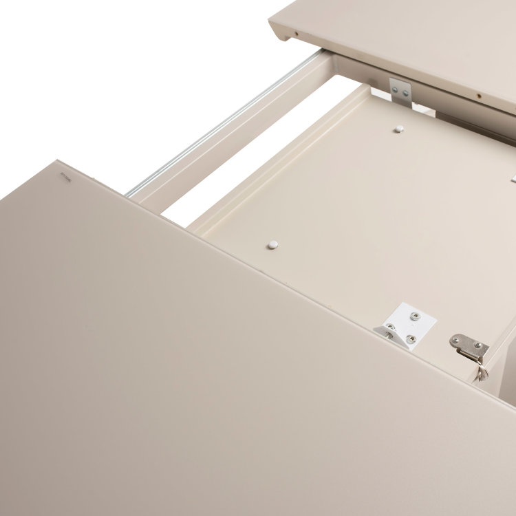 bijeli stol louis s postoljem mehanizam za razvlačenje