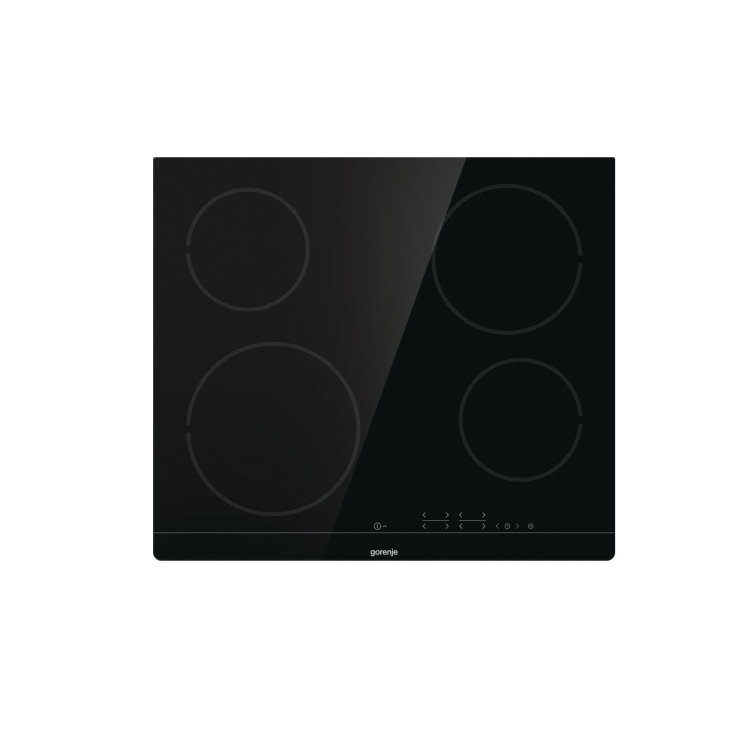 ploča Gorenje ECT641BSC slikana s gornje strane