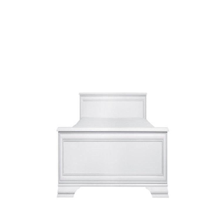 krevet Kentaki slikan s prednje strane na bijeloj pozadini