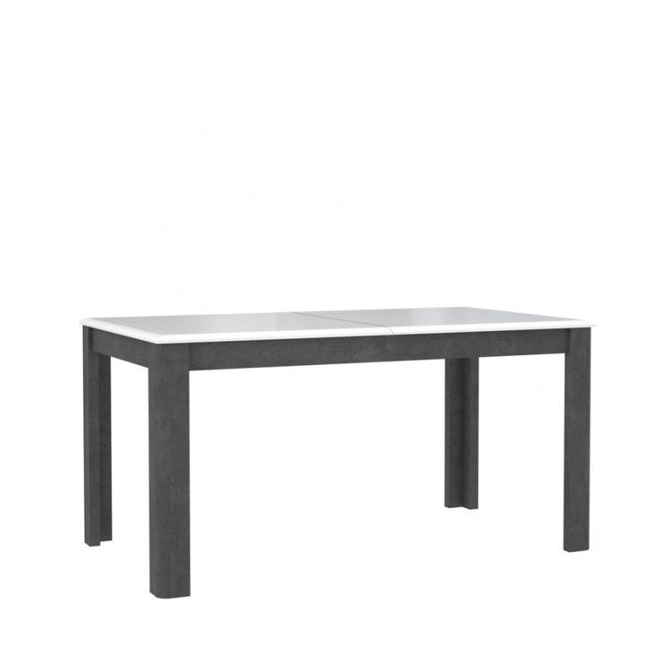 stol canne u kombinaciji boja bijela i beton