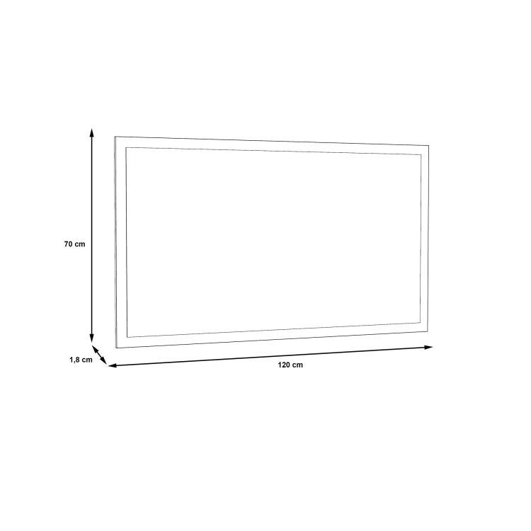 ogledalo Duro skica s mjerama