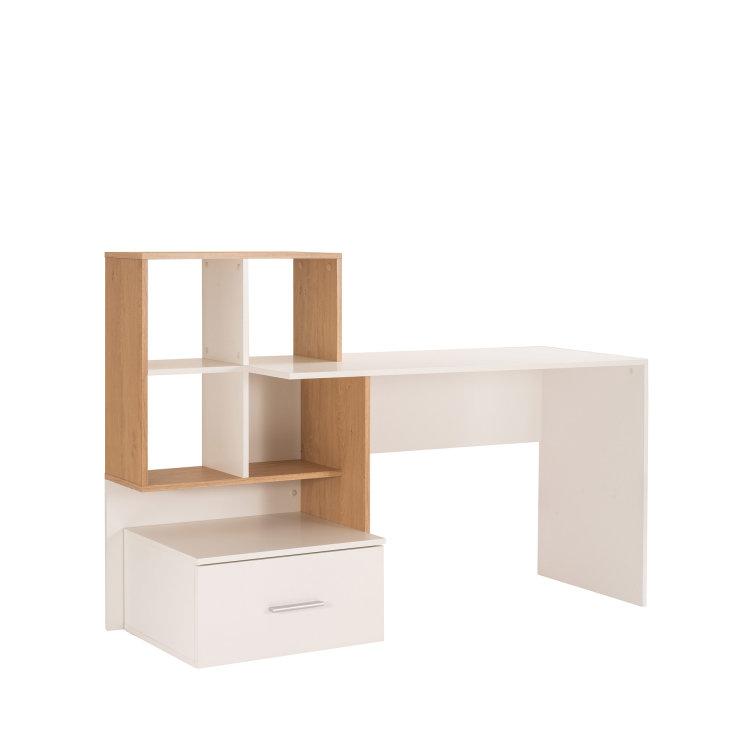 uredski stol Lisha slikan s lijeve strane