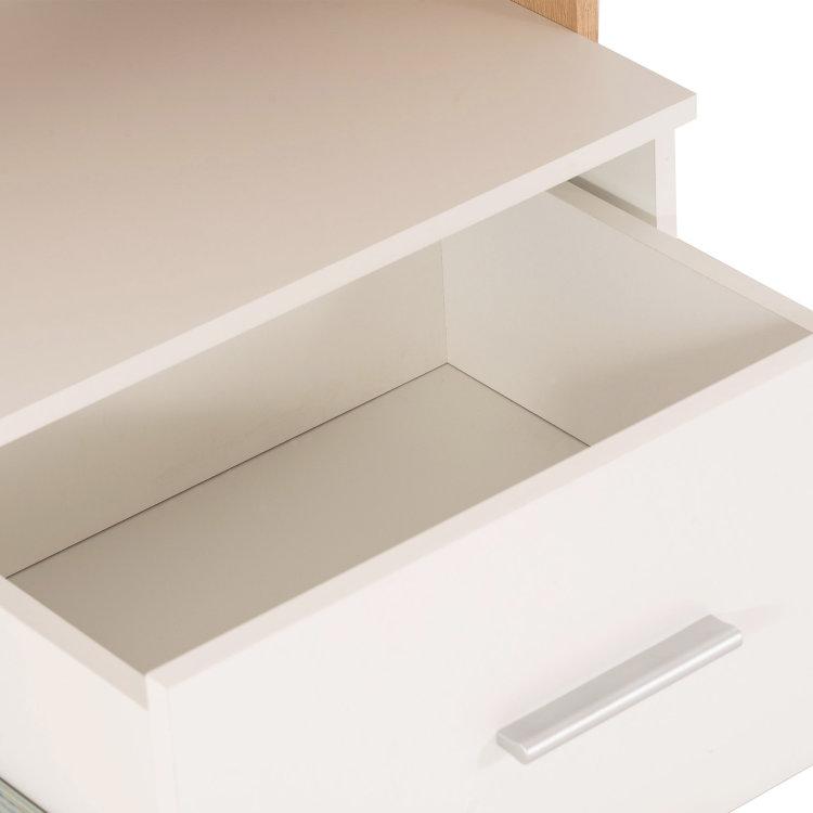 uredski stol Lisha detalj otvorene ladice