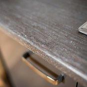 modularna kuhinja Grey detalj ruba radne plohe
