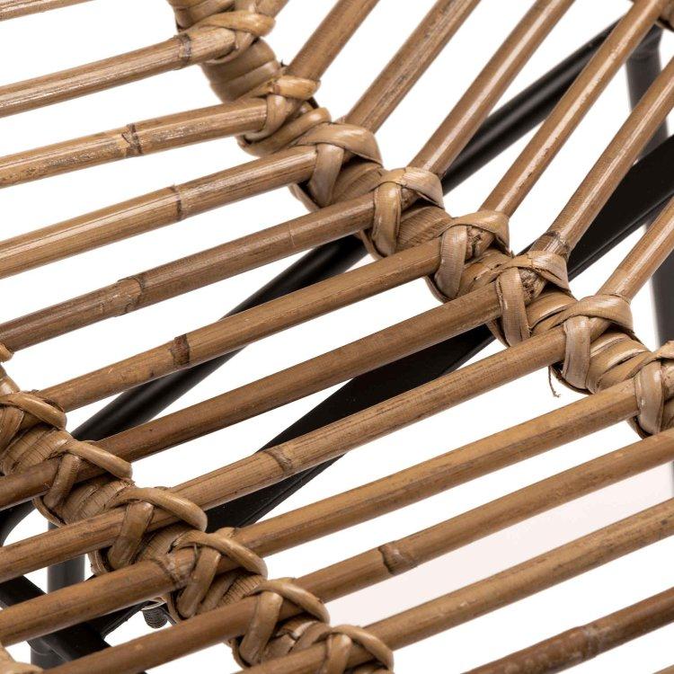 Barska stolica Taormina s detaljem materijala sjedišta