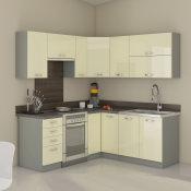 modularna kuhinja Karmen potpuno opremljena srednja u kutu