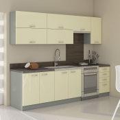 modularna kuhinja Karmen potpuno opremljena srednja uza zid