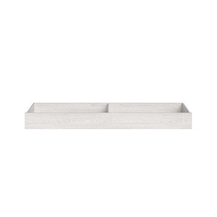 ladica za Salins krevet bijele boje s dva odjeljka