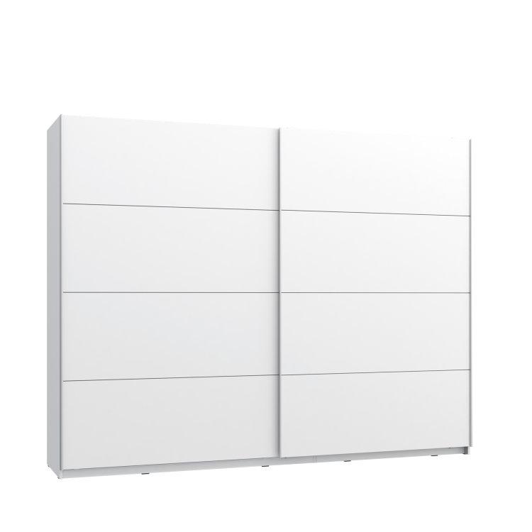 moderan klizni ormar Starlet plus 270 elegantnog dizajna slikan s lijeve strane na bijeloj pozadini