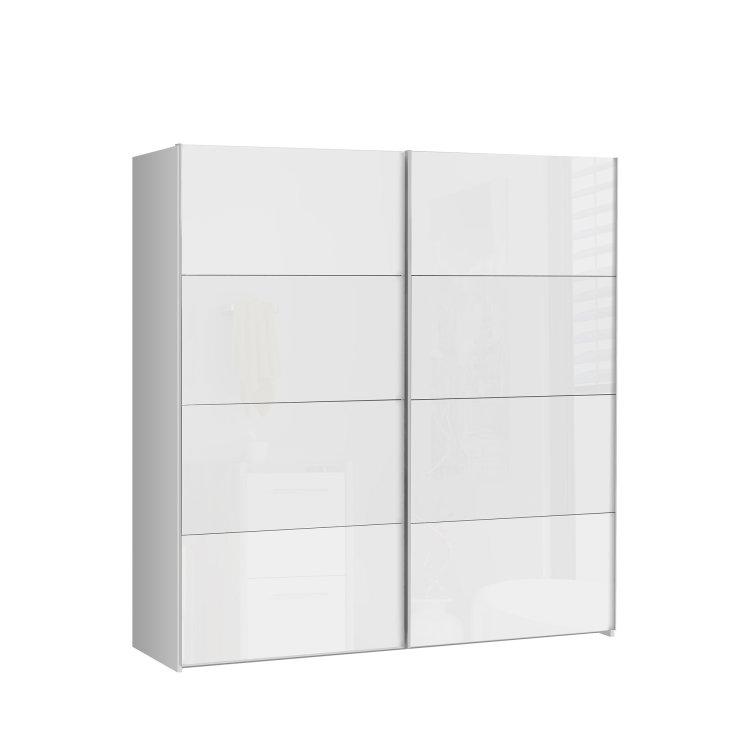 moderan klizni ormar Starlet plus 200 elegantnog dizajna slikan s lijeve strane na bijeloj pozadini