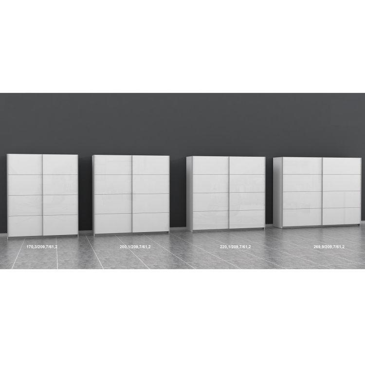 moderan klizni ormar Starlet plus 200 elegantnog dizajna modeli u dostupnim veličinama