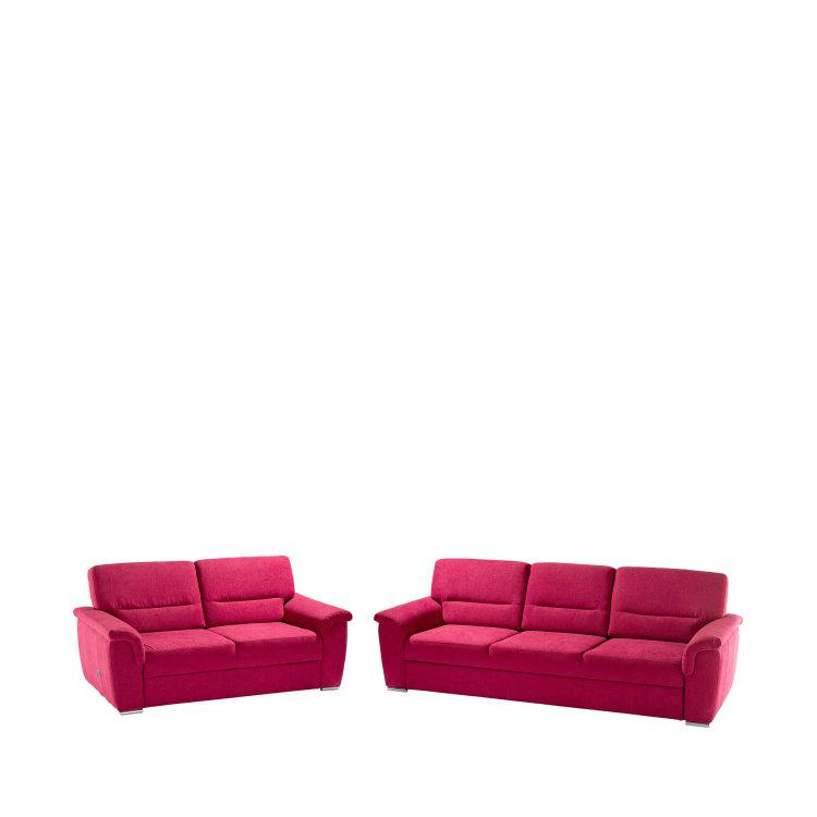 crvena garnitura slika trosjeda i dvosjeda