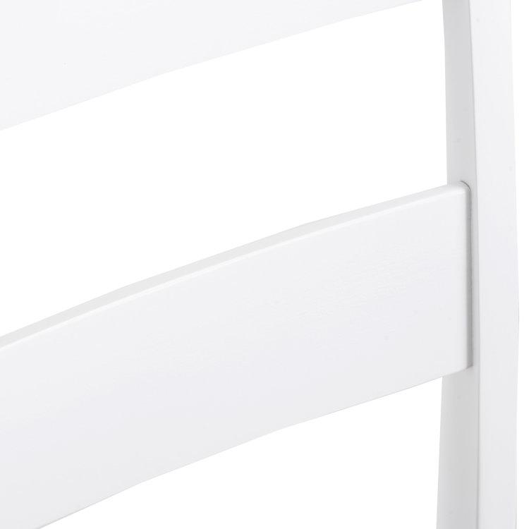 set stol i stolice bijele stolica detalj naslona