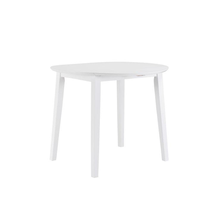 set stol i stolice bijele slika stola
