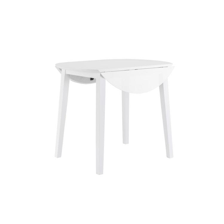 set stol i stolice bijele slika stola sa sklopljeim stranama