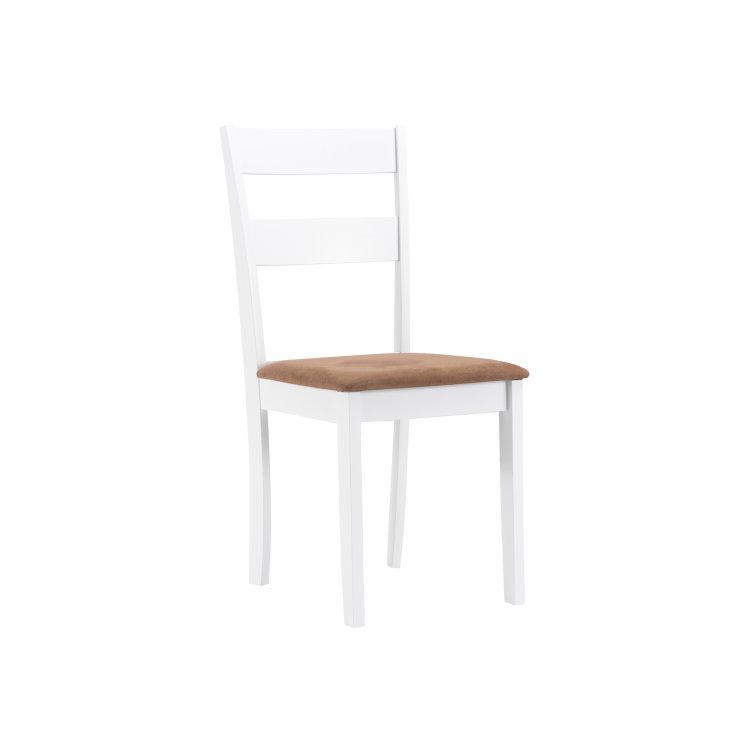 set stol i stolice bijele stolica slikana s lijeve strane