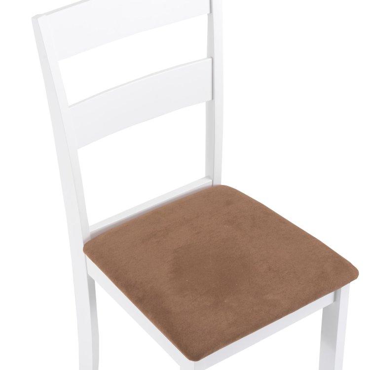 set stol i stolice bijele stolica detalj