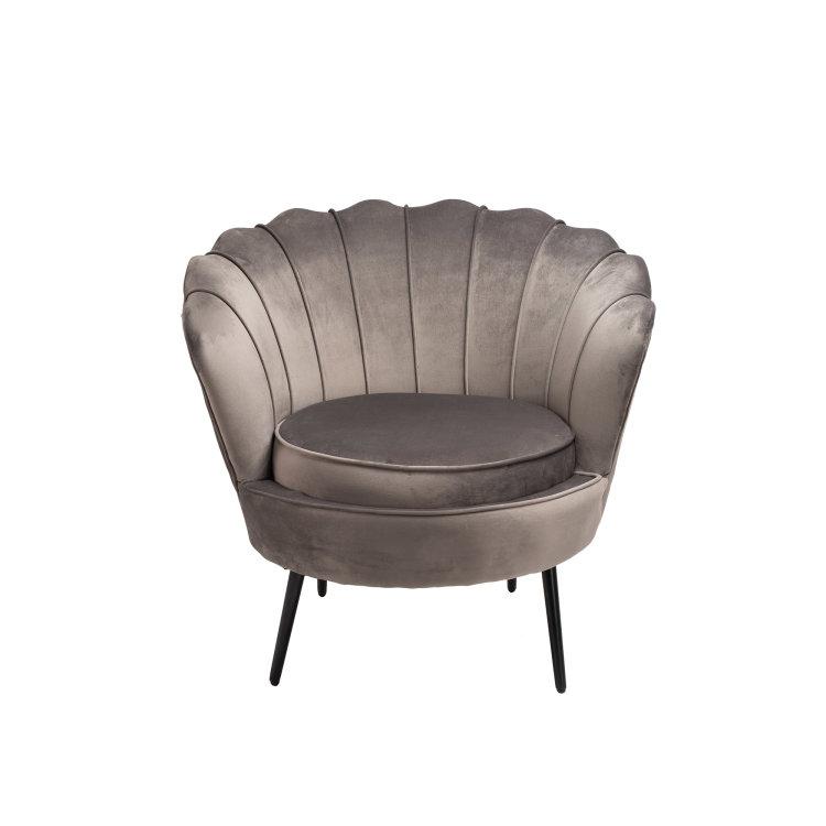 Fotelja Shell dizajnirana kao fotelja školjka